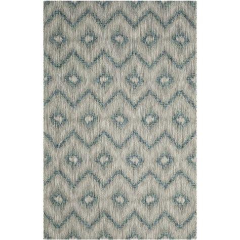 4 x 5 outdoor rug safavieh courtyard grey indoor outdoor rug 4 x 5 7