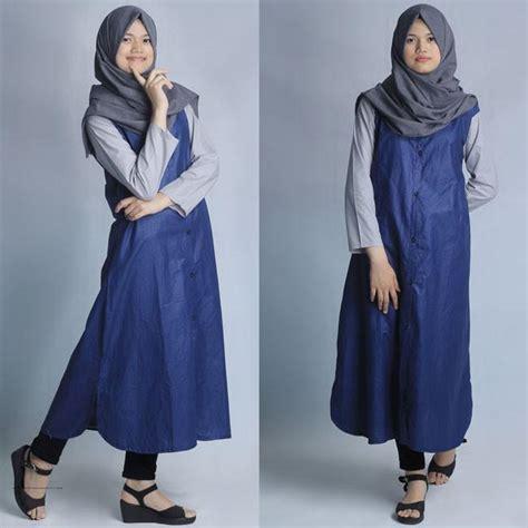 Q4 Baju Atasan Muslim Wanita Outer L Kode E6532 1 baju muslim modern adisa outer grosir baju muslim