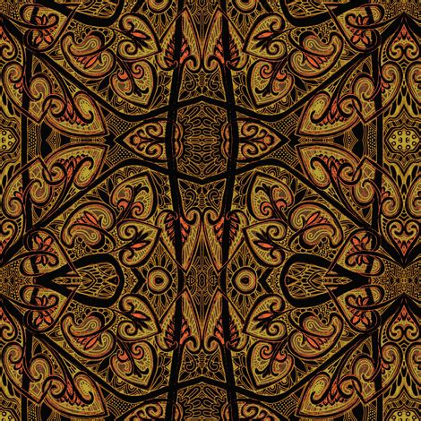 wallpaper batik tribal pseudo batik tribal chocolate overdose fabric edsel2084