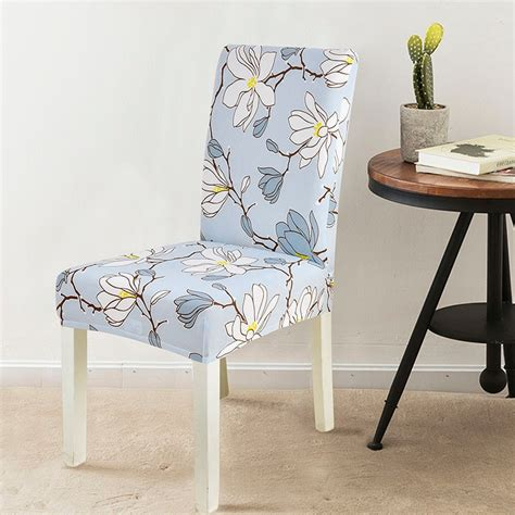 spandex dining chair cover removable elastic banquet