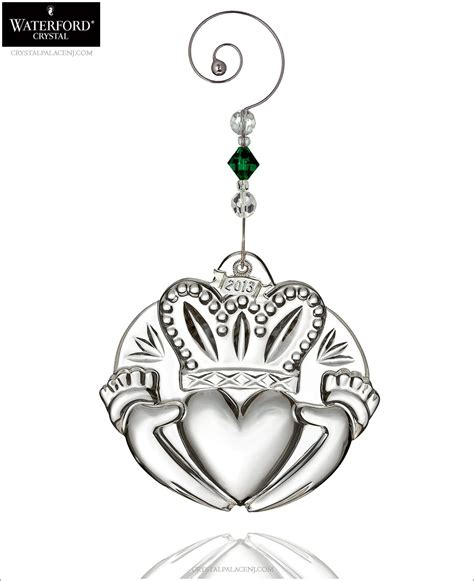 2013 waterford claddagh christmas ornament