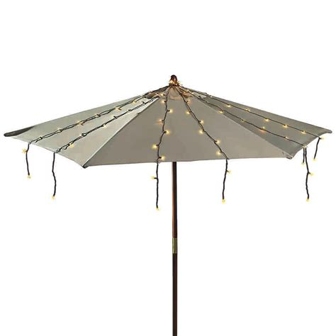 The Home Depot Umbrella String Lights 150l The Home Umbrella String Lights