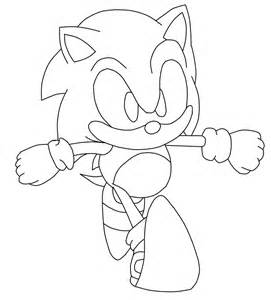 classic sonic coloring pages az coloring pages
