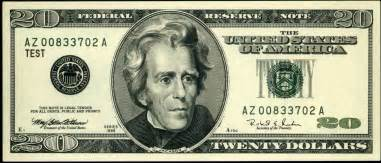 Harriet tubman boots andrew jackson from 20 bill