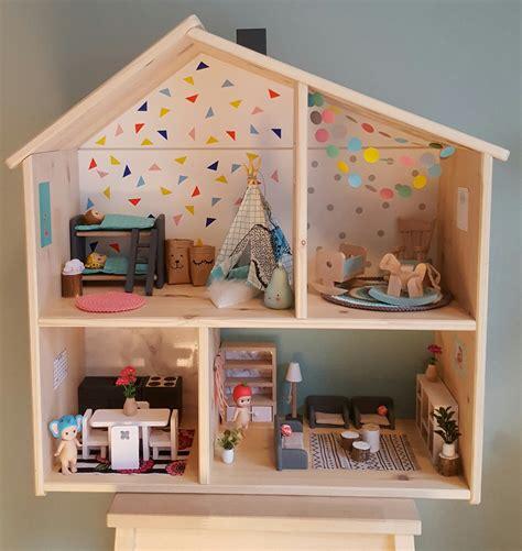 dollhouse ikea modern dollhouse modern poppenhuis ikea flisat