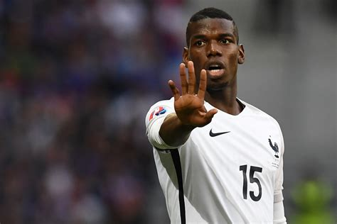 paul pogba for manchester united as real madrid