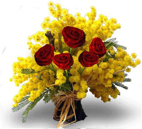 fiore di mimosa bouquet di fiori e mimosa per la festa della donna eflora shop