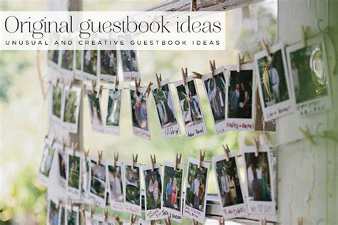 What Is Your Home Decor Style by 18 Unusual And Creative Guest Book Ideas Smashing The