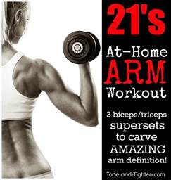 at home arm workouts the best arm toning workout with dumbbells tone and tighten