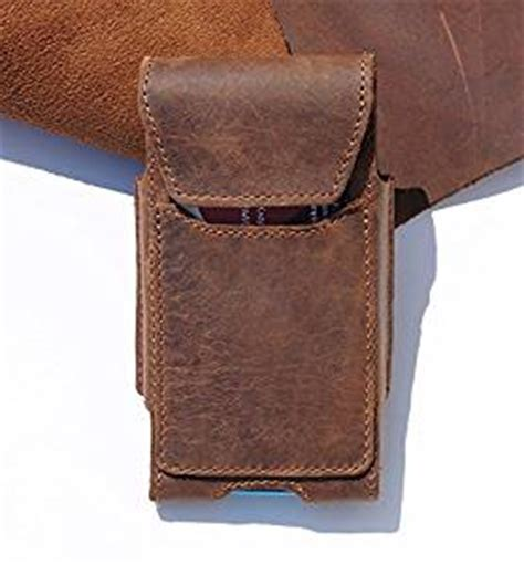 Handmade Leather Cell Phone Holsters - handmade real genuine leather cowhide holster