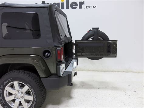 Jeep Spare Tire Carrier Jeep Wrangler Unlimited Yakima Sparetime 2 Bike Carrier