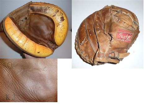 johnny bench catchers mitt vintage sports shoppe catchers mitts