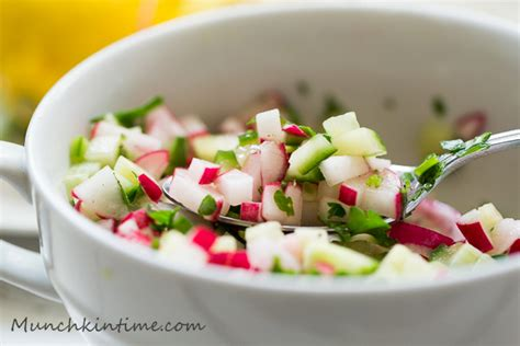 radish salad recipe crunchy cucumber radish salad recipe