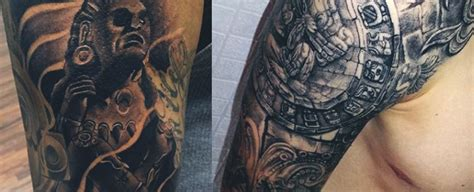 ancient tribal tattoos 80 aztec tattoos for ancient tribal and warrior designs