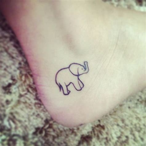 30 adorable tiny elephant tattoo feedpuzzle