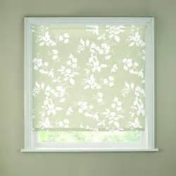 Roman Blinds Suitable For Kitchen Homebase Butterfly White Roller Blind 90cm