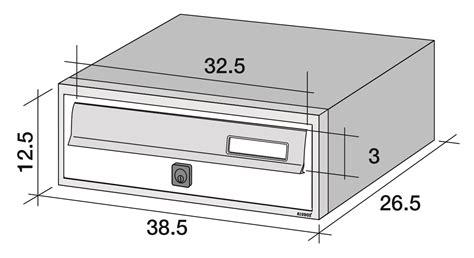 cassette postali da incasso cassetta postale da incasso per esterno