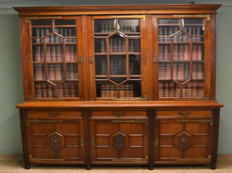home library bookcase antique library bookcase antique