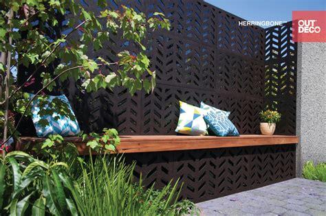 Outdoor Privacy Panels Garden Screens Outdeco Retailer Garden Wall Panels