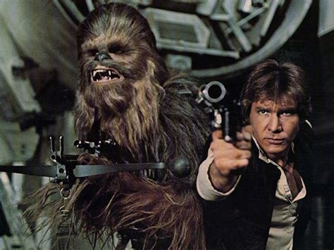 Harrison Ford Chewbacca Wars Episode 7 Will Feature Chewbacca Mayhew