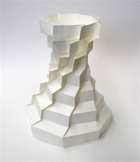 Folded Paper Sculpture - 3d origami