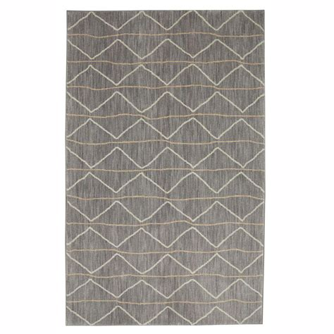 jeff lewis rugs jeff lewis spencer grey 8 ft x 10 ft area rug 497750 the home depot