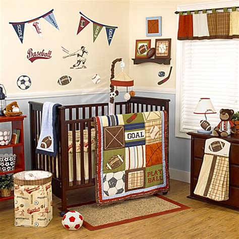 cocalo 174 play ball 4 piece crib bedding set buybuy baby