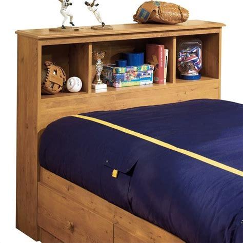 pine twin headboard south shore amesbury twin bookcase headboard in pine 3432098