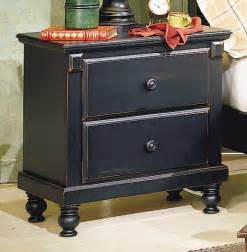 pottery distressed black new style bedroom