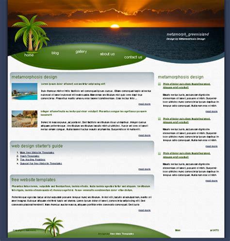 website templates free lisamaurodesign