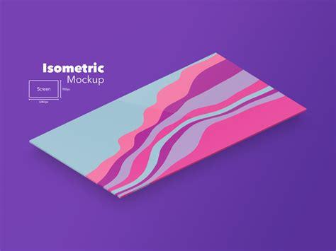 Business Card Template Psd Isometric by Isometric Website Mockup Freebie Photoshop