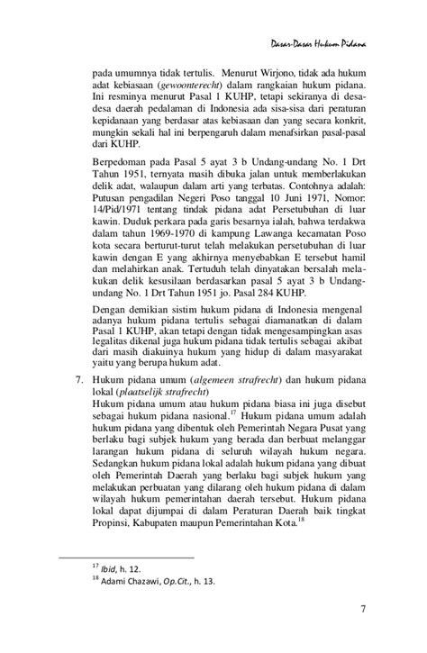 Tindak Tindak Pidana Tertentu Di Indonesia Wirjono Prodjodikoro dasar dasar hukum pidana bab 1