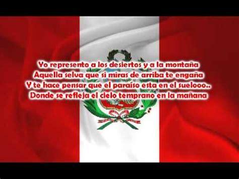 letra de cancion banderita banderita peru norick meidin peru letra youtube