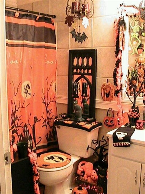 halloween bathroom set halloween bathroom stuff autumn pinterest