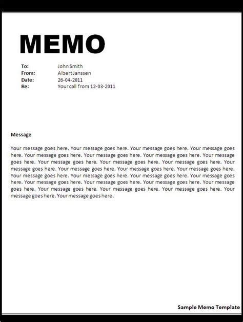 Memo Template Exle Memo Template Sle Format Of Sle Memo Template Sle Templates