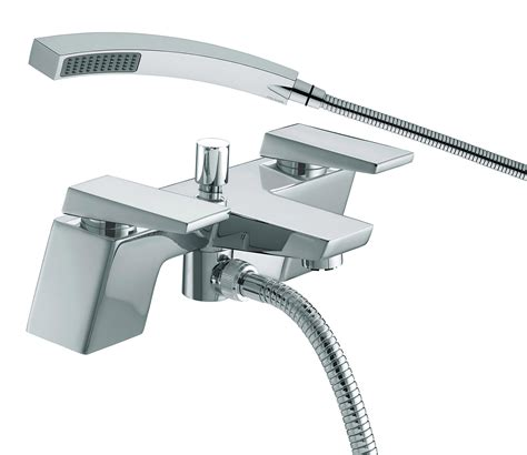 bristan bath shower mixer taps bristan sail bath shower mixer tap chrome sai bsm c