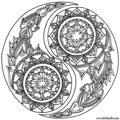 printable coloring pages yin yang yin yang coloring page by welshpixie on deviantart some