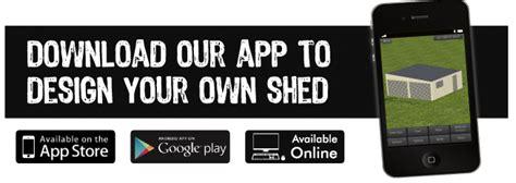 Shed Designer App by Sunstate Garages Sheds Sunstate Garages Sheds