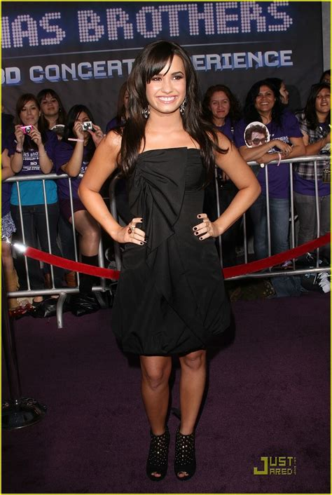 Carpet Demi And Work The Lbd by Demi Lovato Is A Black Photo 82911 Photo