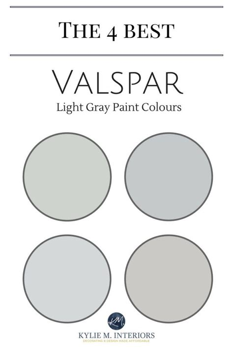 valspar paint 4 best light gray paint colours paint
