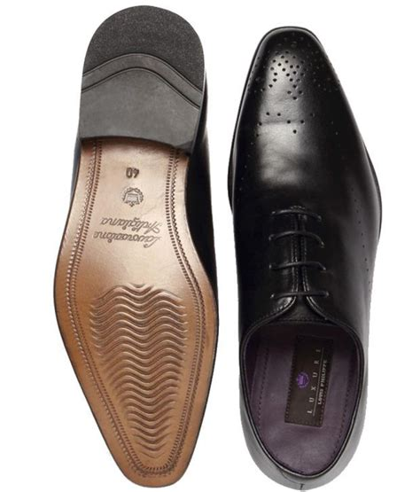 louis philippe black formal shoes style guru