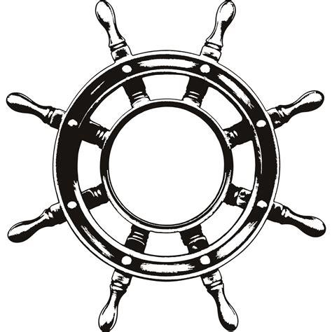 boat steering wheel helm ship steering wheel helm wall art sticker wall decal