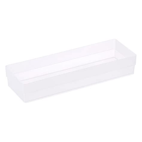 Shallow Drawer Organizers by Clear Shallow Stackable Drawer Organizers The Container