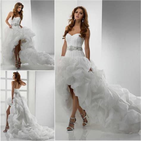 High Wedding Dresses by High Low Wedding Dresses Naf Dresses