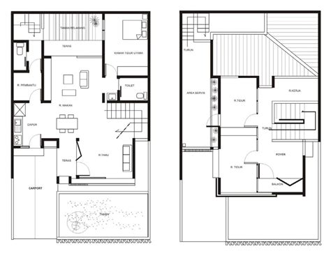 how to design a house floor plan aeccafe jati asih house in bekasi indonesia by atelier riri