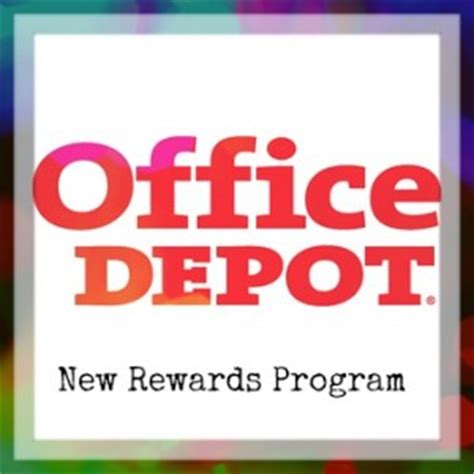 Office Depot Rewards Login Office Depot New Rewards Program Starting 7 1 Southern