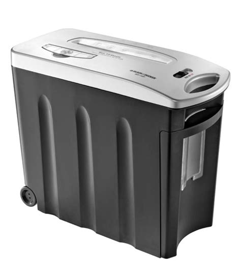 paper shredder reviews black decker bd10p paper shredder review