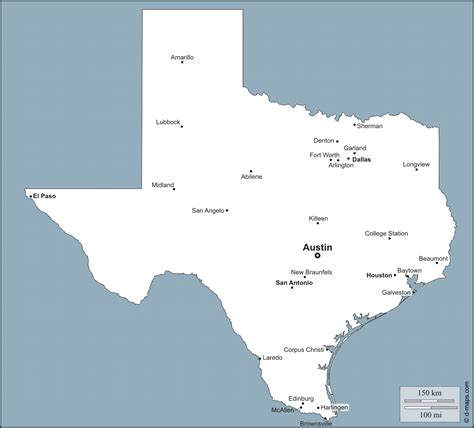 texas city map major cities texas map cities