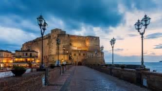Naples Italy Hd Castel Dell Ovo Naples Italy Hd Wallpaper