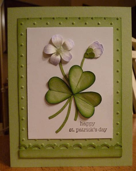 s day card pictures cards st punch paper craft pat s card